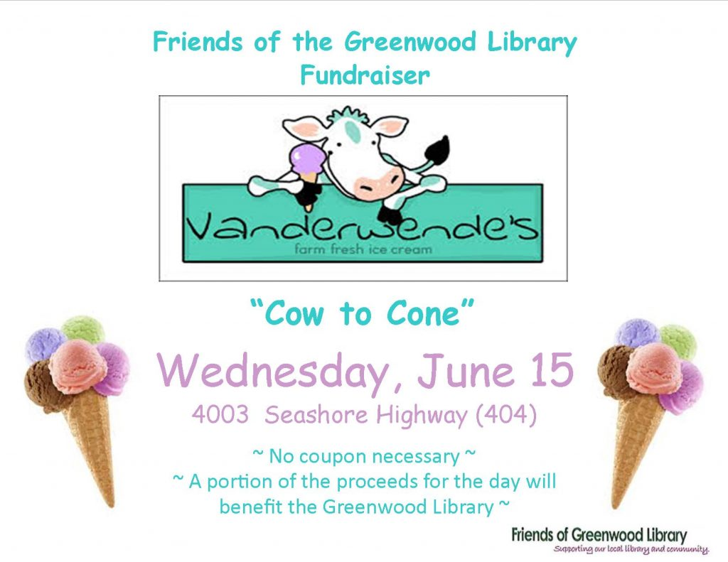 Poster - Friends Vanderwende Fundraiser June 2016