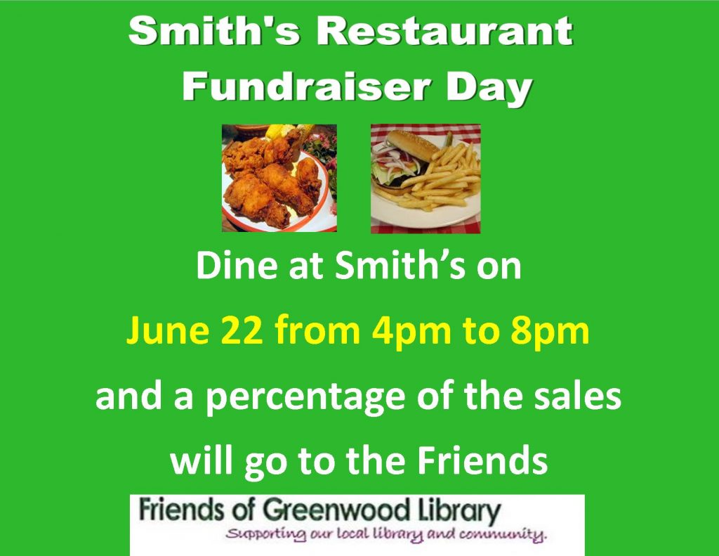 Poster - Smiths Fundraiser June 2016