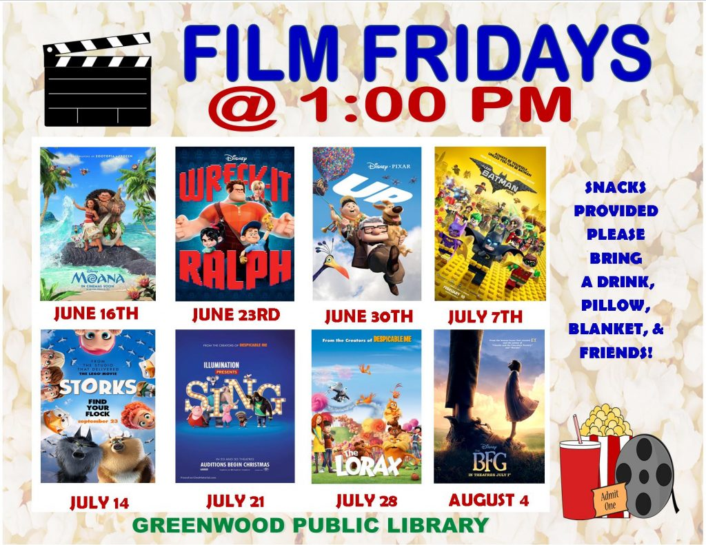 Film Fridays flyer