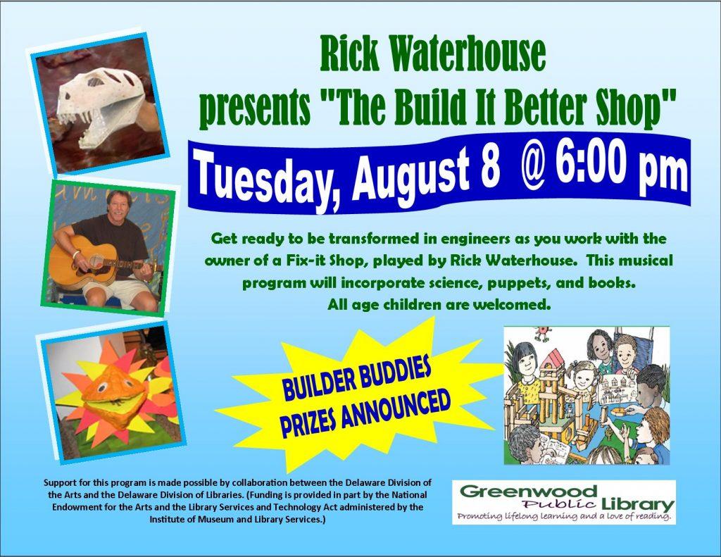 rick waterhhouse